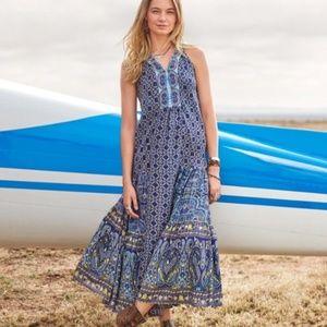 Sundance Silk Printed Maxi Dress 2